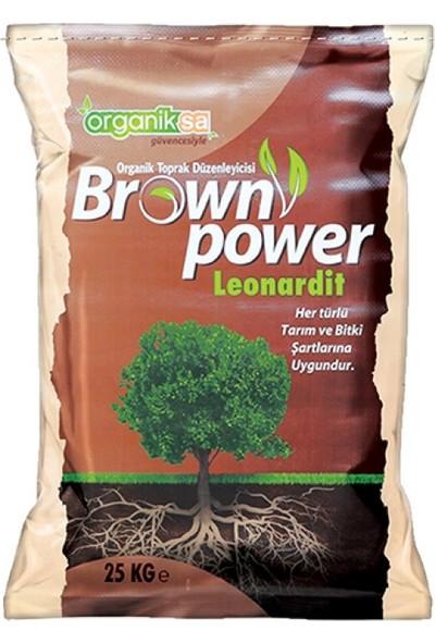 Organiksa Leonardit 25 kg %40 Humik Fulvik Asit Brown Power