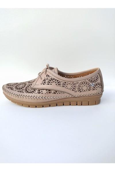 Iloz 240029 Deri Yazlık Kadın Ayakkabı