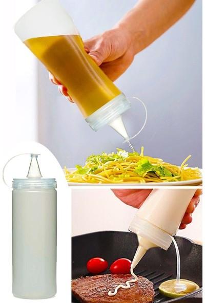 Titiz Plastik Master Chef Yağdanlık Ketçap Sosluk Sızdırmaz Kullanışlı Ürün 1 Adet