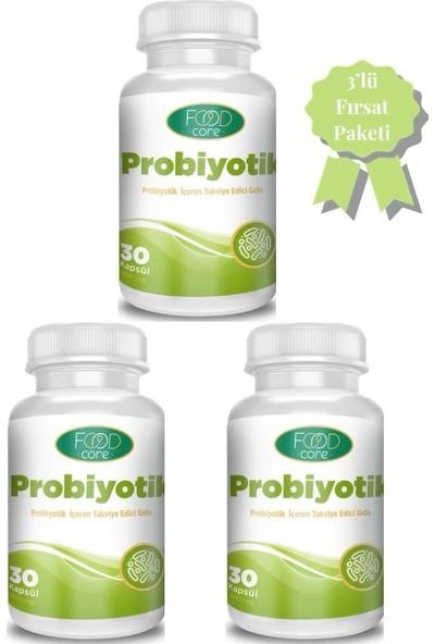 FOODCORE Probiyotik 3'lü Set 30x3 Kapsül