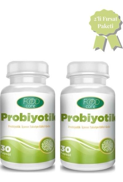 FOODCORE Probiyotik 2'li Set 30x2 Kapsül