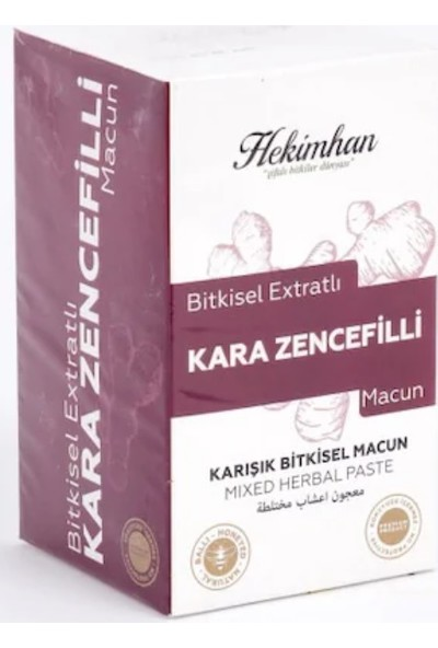 Hekimhan Kara Zencefilli Macun