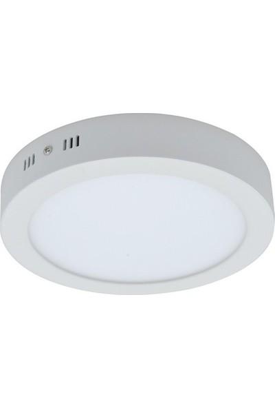 Panel LED Panel Armatür Sıva Üstü Yuvarlak 26 W Beyaz