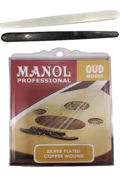 Manol Ud Teli MOS95 + 2 Adet Mızrap