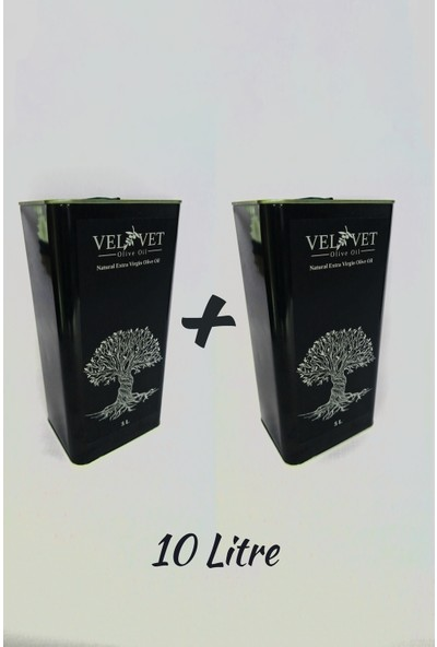 Velvet Olive Oil Olgun Hasat Natural Sızma Zeytinyağı 10 Lt
