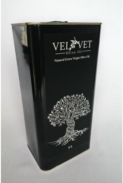 Velvet Olive Oil Erken Hasat Natural Sızma Zeytinyağı 5 Lt