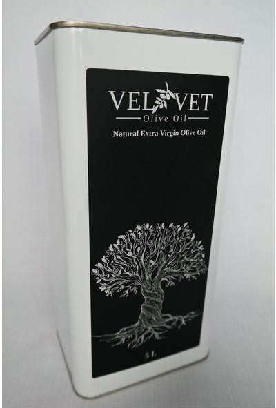 Velvet Olive Oil Olgun Hasat Natural Sızma Zeytinyağı 5 Lt