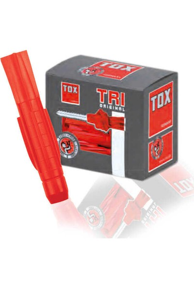 Tox 6X36 Tri Vidalı Çok Amaçlı Dübel 010 701 05 1 10 'lü