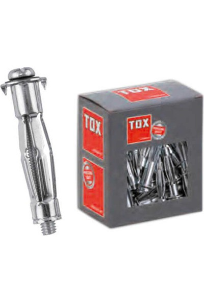 Tox M5X37 Mhd-S Acrobat Içi Boş Metal Dübel 035 701 06 1 4 'lü