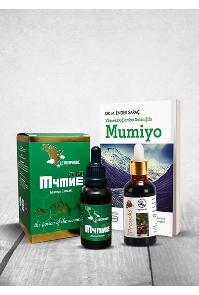 Le Bosphore Mumiyo Ekstraktı 30 ml ve Su Bazlı Propoplis Damla 50 ml