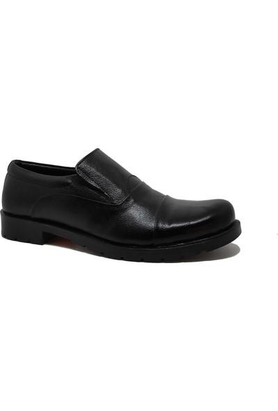 Budak 01 Merdane Günlük Erkek Deri Ayakkabı Siyah - 41