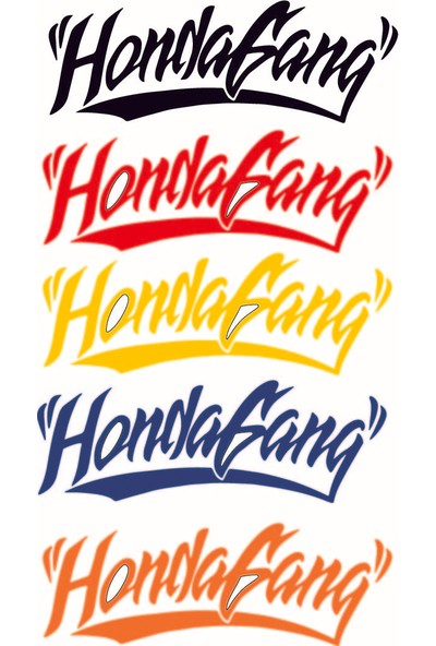 Smoke Hondagang Sticker