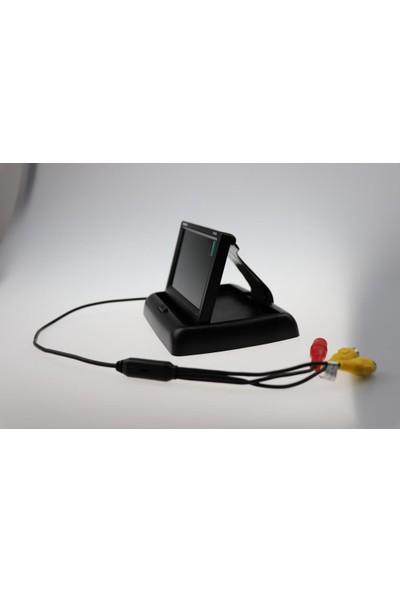 Twogo GO-431 4.3inç Araç Içi Monitör + Park Kamerası