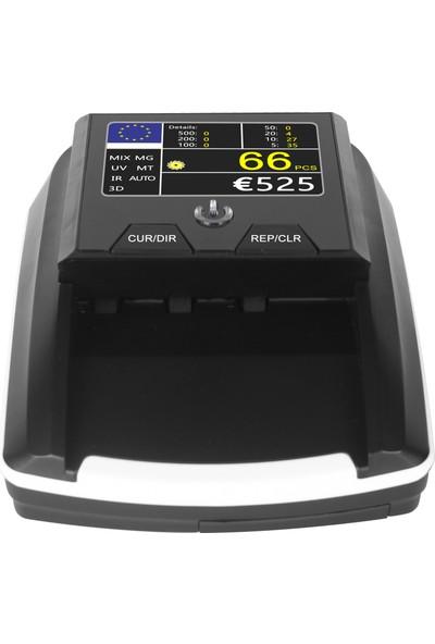 Double Power Dp 2258 LCD Renkli Ekran 2 Ülke Kombinasyonlu Sahte Para Kontrol Makinesi