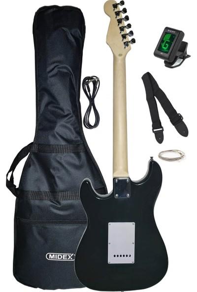 Midex PH560C Elektro Gitar (Kılıf Askı Tuner Kablo Tel)
