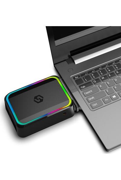 Triline Rgb Işıklı Vakumlu USB Notebook Laptop Soğutucu