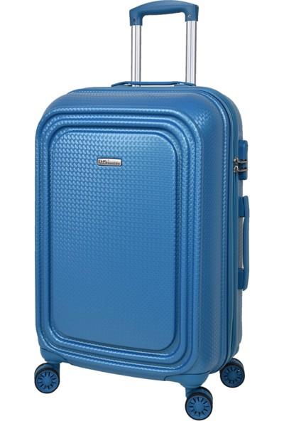 Ehs 3'lü Valiz Seti Mavi