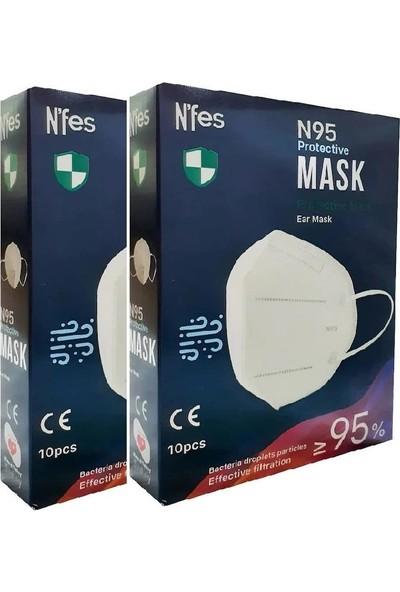 Nefes N95 Maske 2 Kutu 20'li