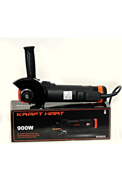 Kraft Hart Moonshop Kraft Hart Profesyonel 900 W 115 mm Avuç Içi Taşlama Ispiral Makinası