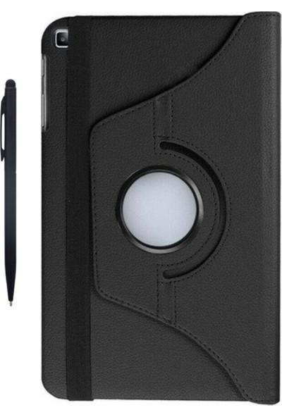"TZ Samsung Galaxy Tab A7 SM-T500 2020 10.4"" Kılıf+Tablet Kalemi 360 Derece Dönebilen Standlı Tablet Kılıfı"