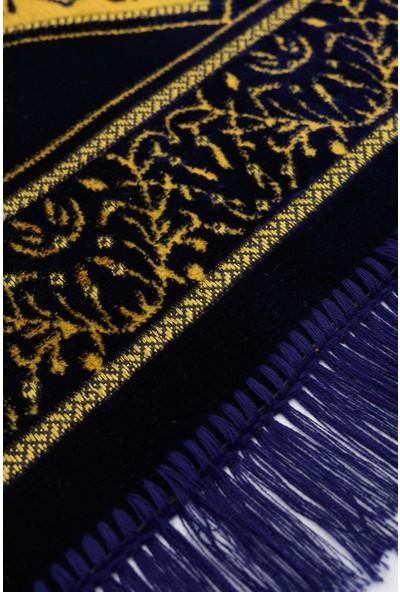 Altınoluk Seccade - Lacivert - Sarı