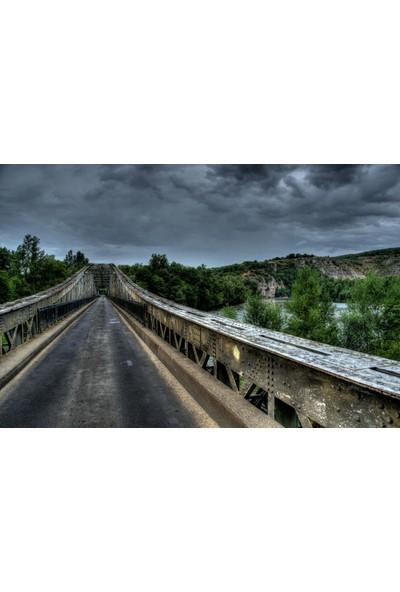 Sonar Köprü Manzara Tablo Uv Baskı