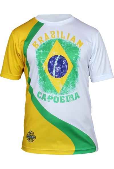 Do-Smai Capoeira Dijital Baskılı T-Shirt CA020 Sarı
