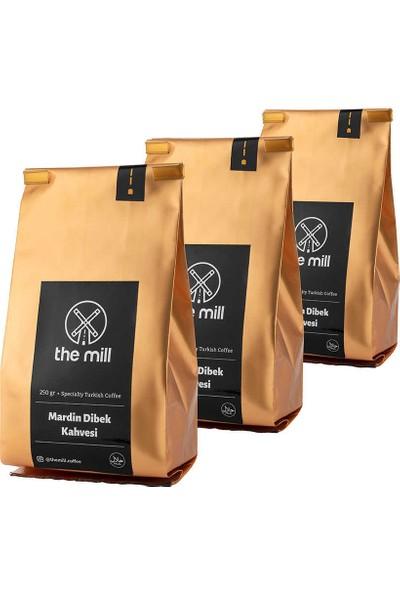 The Mill 6 Karışımlı Mardin Dibek Kahvesi 3 x 250 gr (Toplam 750 gr)