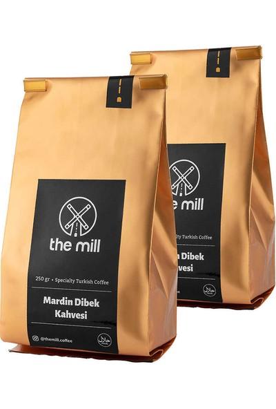The Mill 6 Karışımlı Mardin Dibek Kahvesi 2 x 250 gr (Toplam 500 gr)