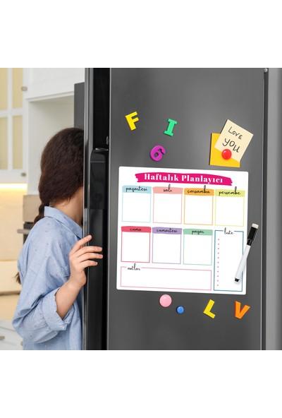 Miya Design Haftalık Magnet Planlayıcı