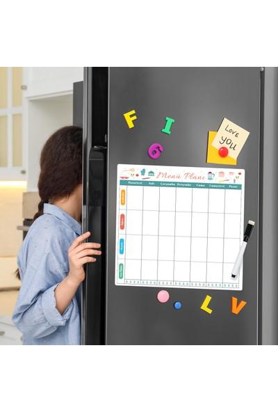 Miya Design Menü Magnet Planlayıcı