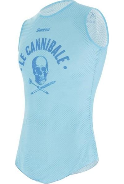 Santini Skull Içlik Mavi-Xs