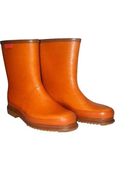 Derby Kahverengi Kısa Krep Çizme