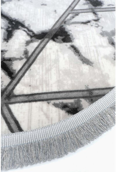 Akman Yuvarlak Paspas 100 cm - Gri