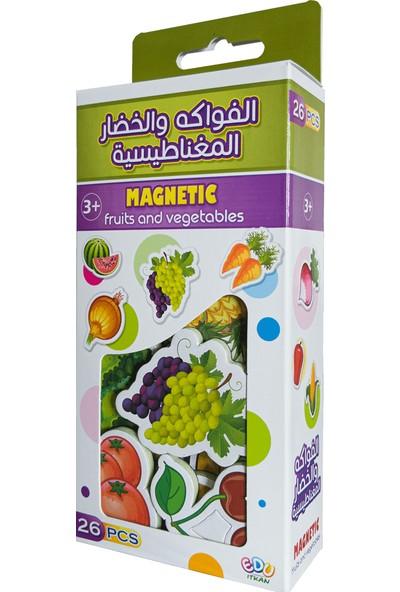 İtkan Manyetik Meyve ve Sebze Kutusu