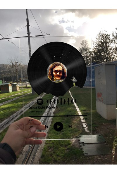 Akbaba Spotify Pleksi Plak - 15X20 cm