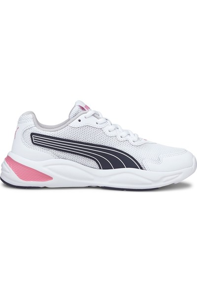 Puma 90S Runner Nu Wave Jr Puma White-Peacoat Spor Ayakkabı
