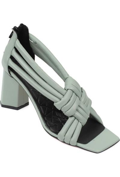 Capone Outfitters Capone 1029 Kadın Topuklu Sandalet