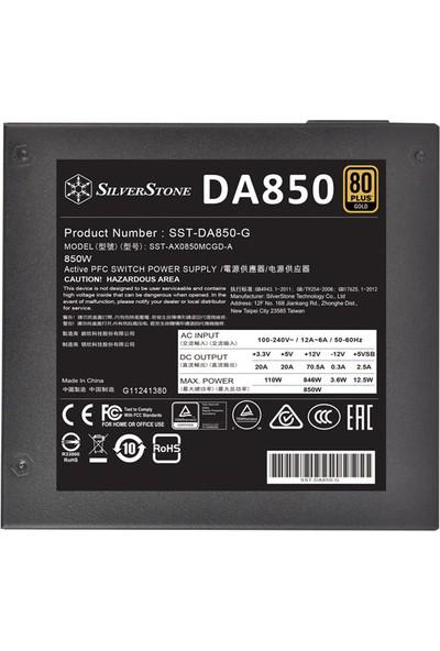 SilverStone DA850 850W 80+ Gold Modüler Güç Kaynağı (SST-DA850-G)
