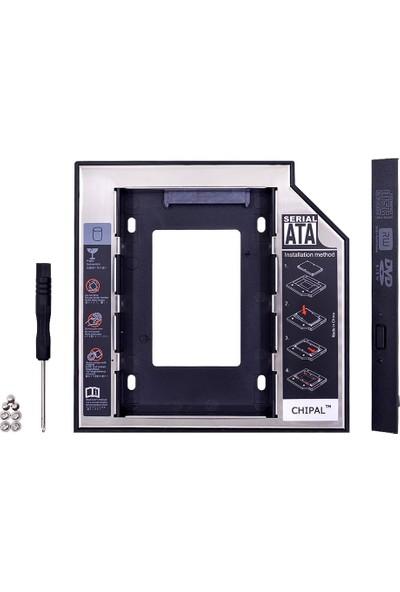 Alfais 4717 12.7mm Sata HDD Harddisk SSD Caddy Kızak Laptop Kutusu