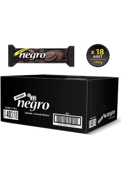 Eti Negro 110 g x 18 Adet