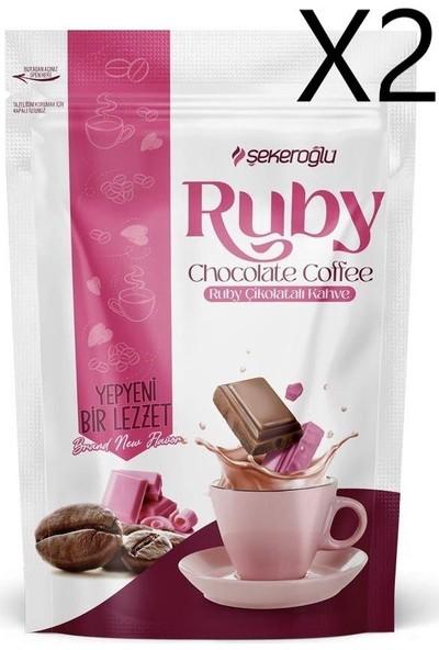 Şekeroğlu Ruby Çikolatalı Kahve 200 gr X2 Adet