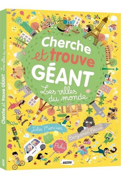 Cherce Et Trouve Geant: Les Villes Du Monde - Benjamin Becue