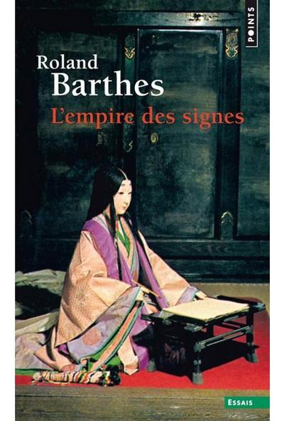 Empire Des Signes (L') (Points Essais) (French Edition) - Roland Barthes