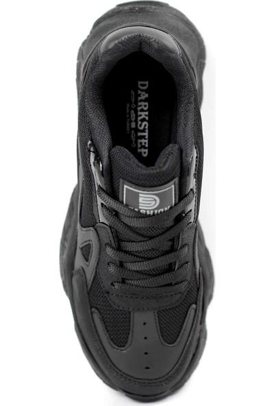 Dark Step Sneaker Ayakkabı Kadın Siyah O58Z0D0141