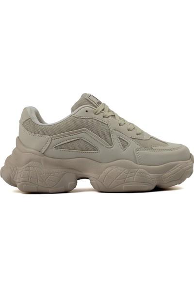 Dark Step Sneaker Ayakkabı Kadın Bej O58Z0D0141