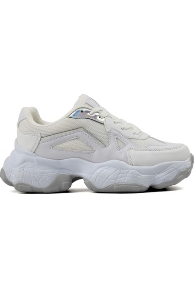Dark Step Sneaker Ayakkabı Kadın Beyaz O58Z0D0141