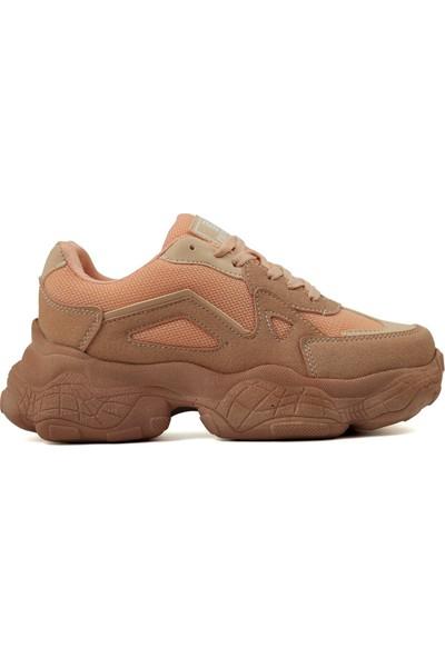 Dark Step Sneaker Ayakkabı Kadın Somon O58Z0D0141
