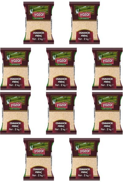 Yazar Osmancık Pirinç 2 kg x 10 Paket