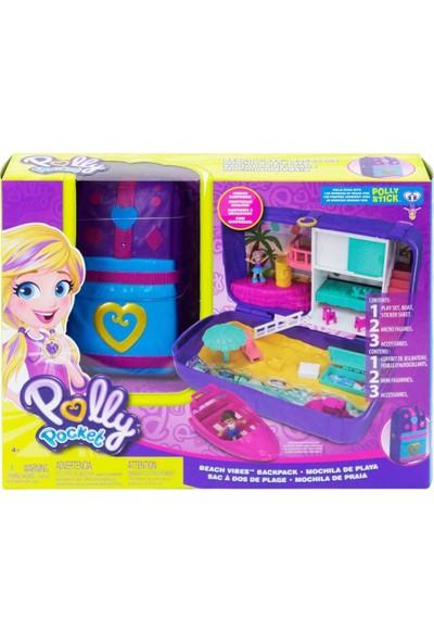 Polly Pocket Dünyası Oyun Setleri Plaj Eğlencesi Çantası FRY40